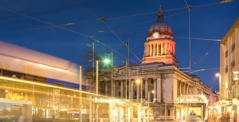 Nottingham city centre close to student accommodation